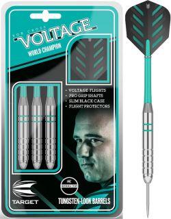 Rob Cross Voltage Silver Brass 24 gram Steeltip | Darts Warehouse