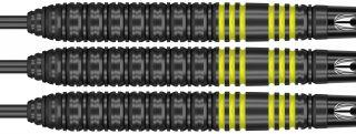 Vapor8 Black Yellow 80%   Target Dartpijlen   DartsWarehouse
