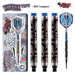 Shot Warrior Tipu 80% Softtip Darts | Darts Warehouse