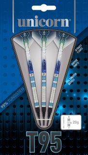 Unicorn Softtip Core XL T95 Blue 2 95% | Darts Warehouse