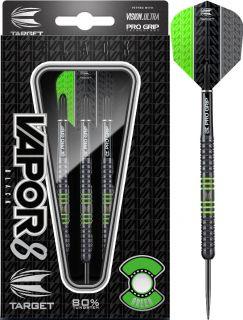 Vapor8 Black Green 80%   Target Dartpijlen   DartsWarehouse