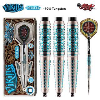 Viking Drakkar 90% Steeltip Darts | Darts Warehouse