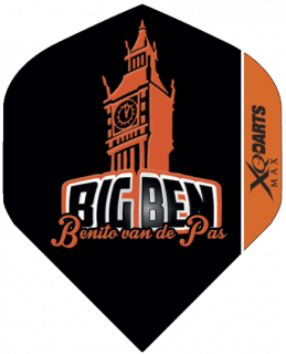 """Benito Std. XQM """"Big Ben"""" Dartflights   Darts Warehouse"""
